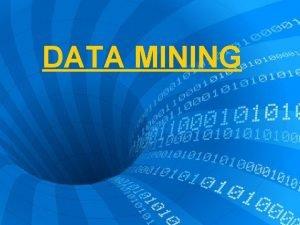 DATA MINING DATA MINING Extraccin de informacin oculta