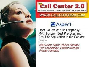 Open Source and IP Telephony Myth Busters Best