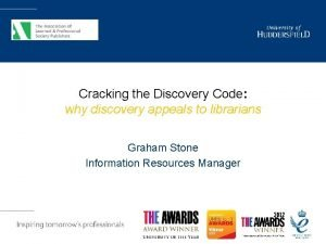 Cracking the Discovery Code why discovery appeals to