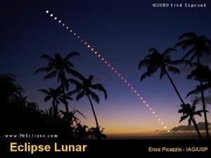 Eclipse Lunar Enos Picazzio IAGUSP Adaptado de Orbit