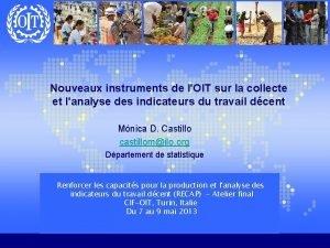 Nouveaux instruments de lOIT sur la collecte et