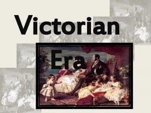 Victorian Era Strangeness in Victorian era GODS GRANDEUR
