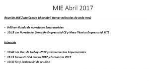 MIE Abril 2017 Reunin MIE Zona Centro 19