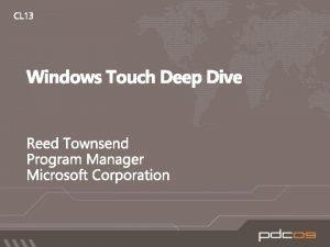 demo demo FUTURE NET 4 0 Surface Toolkit