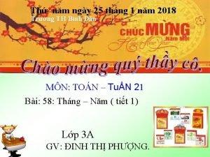 Th nm ngy 25 thng 1 nm 2018