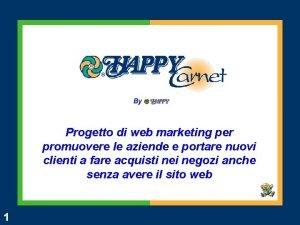By Progetto di web marketing per promuovere le