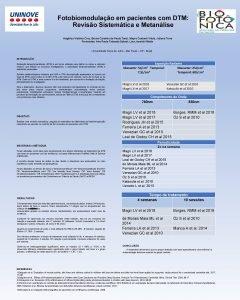 Fotobiomodulao em pacientes com DTM Reviso Sistemtica e