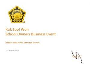 Kuk Sool Won School Owners Business Event Radisson