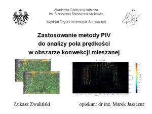 Akademia GrniczoHutnicza im Stanisawa Staszica w Krakowie Wydzia