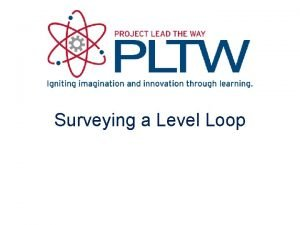 Surveying a Level Loop Level Loop or Closed