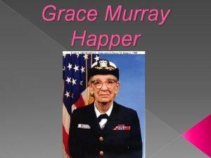 Grace Murray Happer Biografa Naci en Nueva York