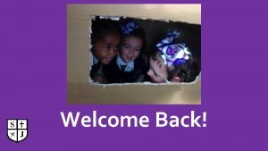 Welcome Back Welcome Back Dear Children We are