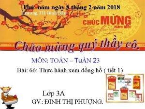 Th nm ngy 8 thng 2 nm 2018