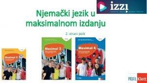 Njemaki jezik u maksimalnom izdanju 2 strani jezik