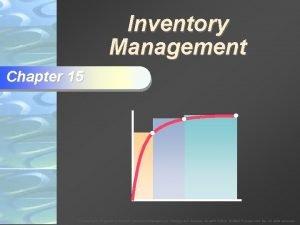 Inventory Management Chapter 15 To Accompany Krajewski Ritzman
