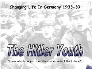 Changing Life In Germany 1933 39 Those who