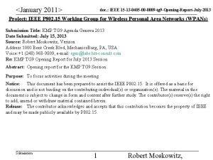 January 2011 doc IEEE 15 13 0405 00