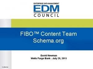 FIBO Content Team Schema org David Newman Wells