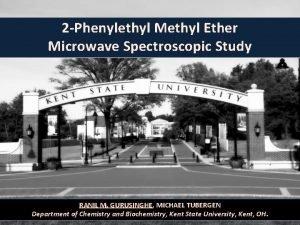2 Phenylethyl Methyl Ether Microwave Spectroscopic Study RANIL