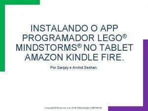INSTALANDO O APP PROGRAMADOR LEGO MINDSTORMS NO TABLET