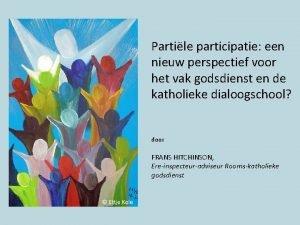 Partile participatie een nieuw perspectief voor het vak