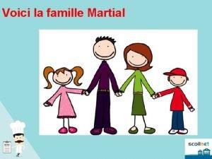 Voici la famille Martial La Famille Ils ont