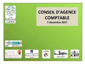CONSEIL DAGENCE COMPTABLE 7 dcembre 2017 ACTUALITES Convention