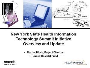 New York State Health Information Technology Summit Initiative