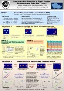 Fragmentation Dynamics of Singly Ionized Homogeneous Rare Gas