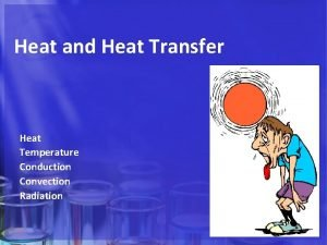 Heat and Heat Transfer Heat Temperature Conduction Convection