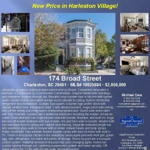 New Price in Harleston Village 174 Broad Street