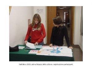 Net Dys 2003 Latina Palazzo della cultura registrazione