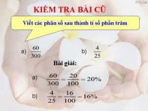 KIM TRA BI C Vit cc phn s