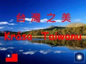 Krsa Taiwanu Taiwan t nsk republika Odtren provincie