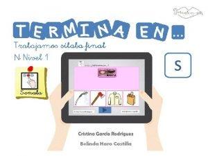 S Imgenes y pictogramas Autora posiciones fonemas Carolina
