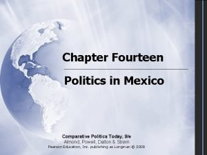 Chapter Fourteen Politics in Mexico Comparative Politics Today