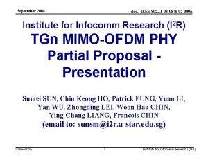 September 2004 doc IEEE 802 11 04 0876