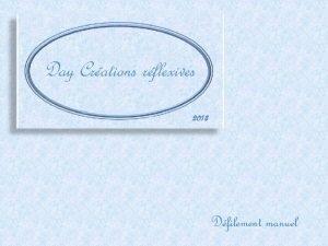 Day Crations rflexives 2013 Dfilement manuel La Tamise