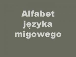 Alfabet jzyka migowego POLSKI ALFABET PALCOWY znaki klasyczne