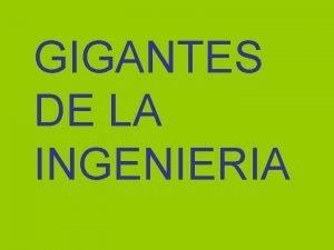 GIGANTES DE LA INGENIERIA 1 TITANES DEL MAR