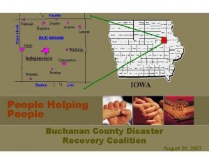 People Helping People Buchanan County Disaster Recovery Coalition