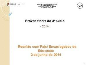 AGRUPAMENTO DE ESCOLAS JOS ESTVO Sede Escola Secundria