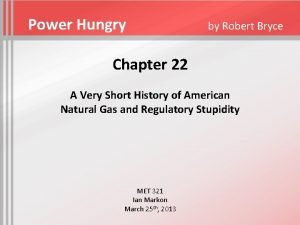Power Hungry by Robert Bryce Chapter 22 A