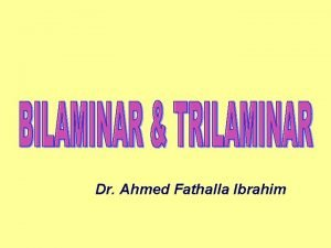Dr Ahmed Fathalla Ibrahim SECOND WEEK Completion of