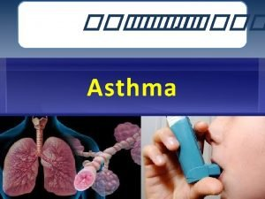 DIAGNOSIS 2 Definition of asthma 3 Definition The