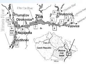 SITUACE region Zlnsko Studie hlavn koly Urete priority