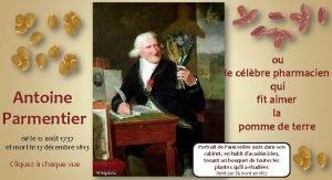 Antoine Parmentier n le 12 aot 1737 et