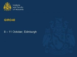 GIRO 40 8 11 October Edinburgh po pe