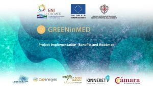 Project Implementation Benefits and Roadmap Goals develop ecoinnovative