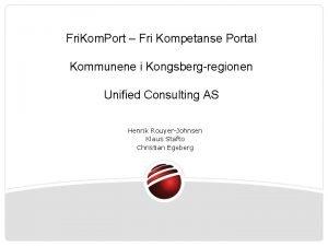 Fri Kom Port Fri Kompetanse Portal Kommunene i
